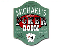 Poker Room Sign